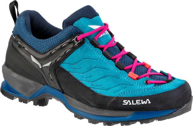 SALEWA MTN TRAINER Shoes Women Blue SapphireRed Plum 2019